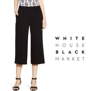 WHBM Cropped Wide Leg Crops / Culottes Size 6